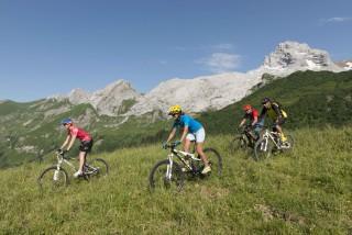 Mountain bike itinerary