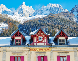 The Chamonix valley