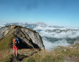 Virginie Villaret hiking guide