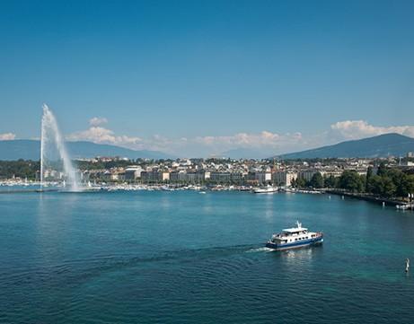 Geneva & the shores of the Leman lake