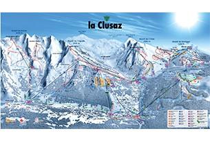 Alpine area La Clusaz / Manigod