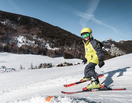 The ski station