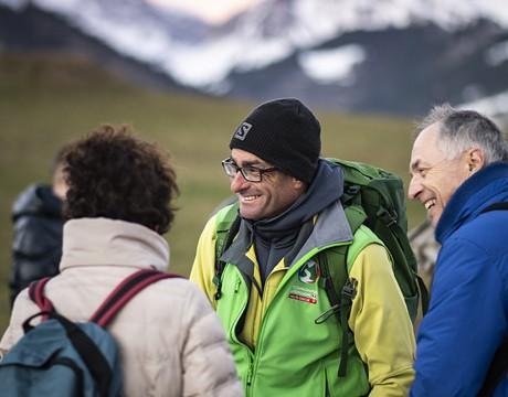 Franck Chappaz, accompagnateur en montagne