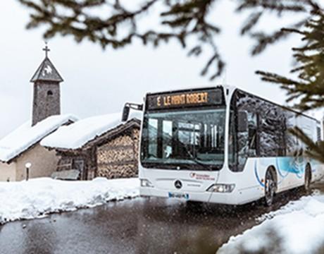 Shuttle La Clusaz-Le Grand Bornand