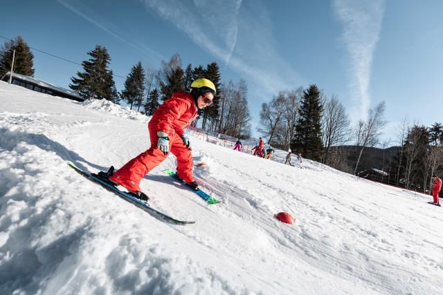 Ski au fil neige du Crêt