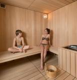 Sauna au Chalet à Bulles