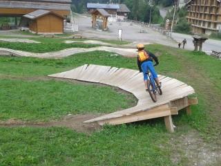 VTT stage junior au Grand-Bornand